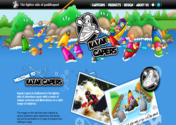 Kayak Kapas Responsive Website =