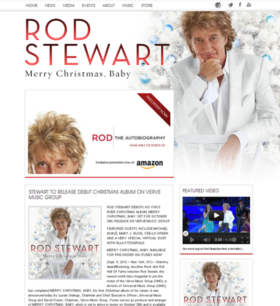 Rod Stewart Profile
