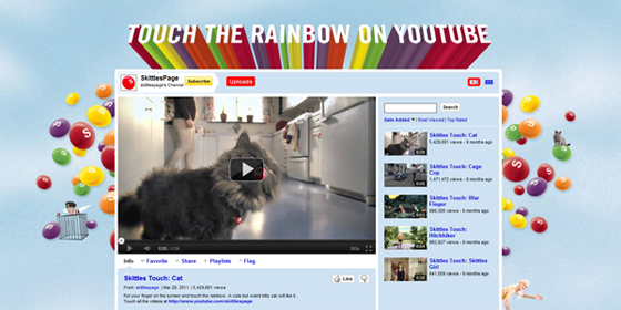 Touch The Rainbow YouTube Channel