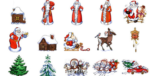 Xmasicon9 Icons for inspiration