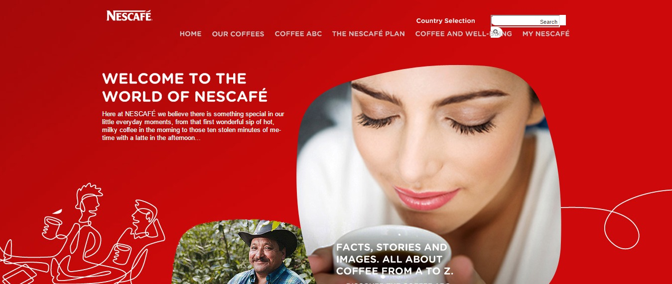 Nes cafe Website