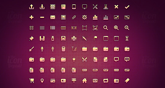 20+ Pixel Perfect Mini Icon sets