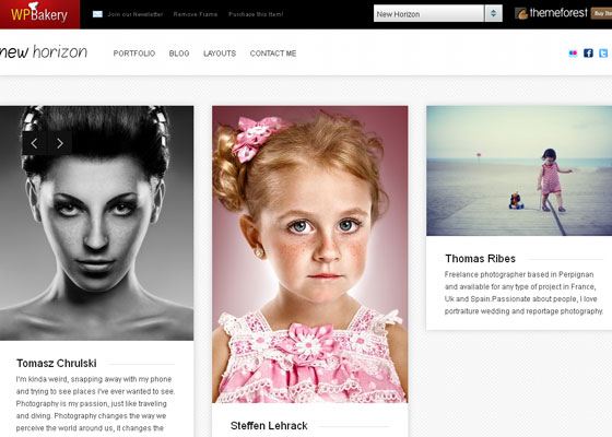 Pinterest like WordPress themes